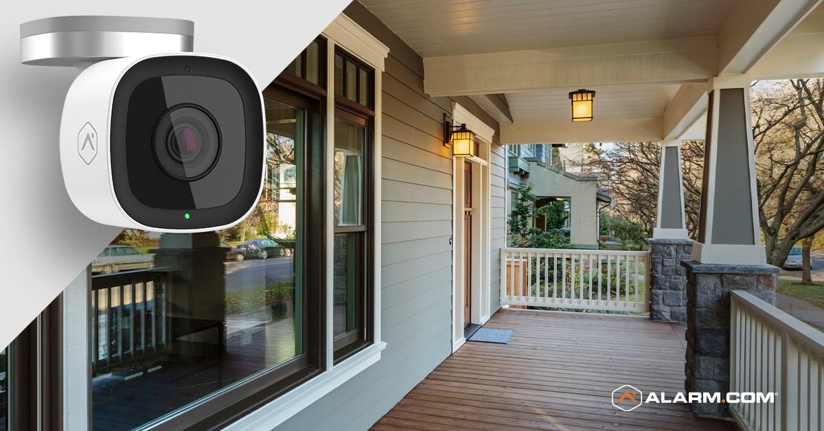 Alarm.com video monitoring camera