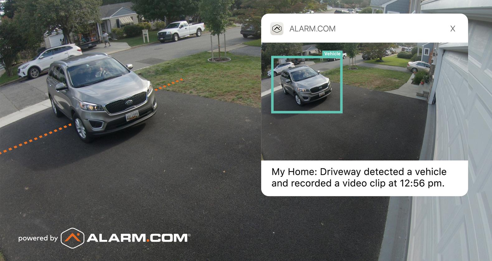 Video Monitoring Analytics analyzing vehicle